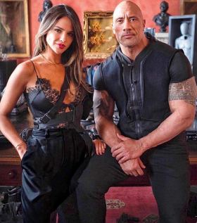 Dwayne Johnson And Eiza González In Hobbs And Shaw (2019)