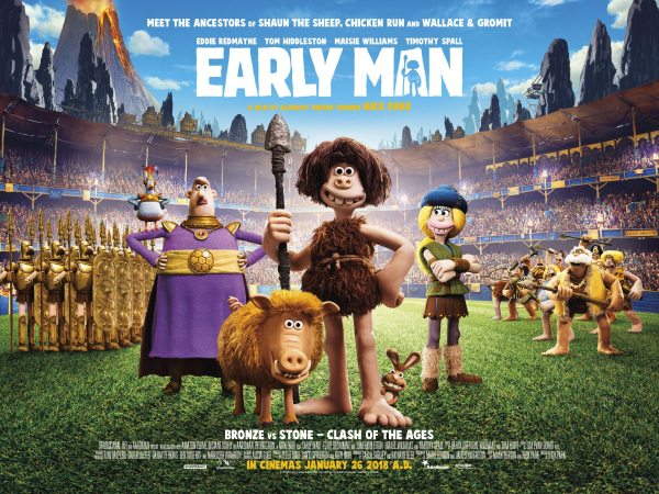 Early Man UK Poster