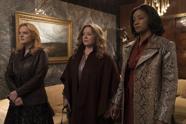 Elisabeth Moss, Melissa McCarthy, and Tiffany Haddish in The Kitchen