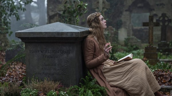 Elle Fanning as Mary Shelley - A Storm In The Stars