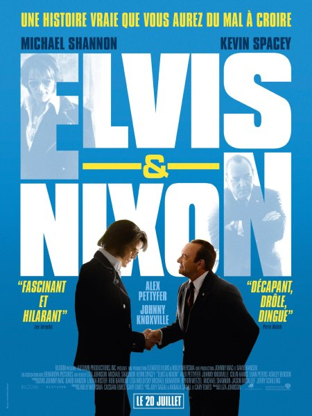Elvis and Nixon French Poster