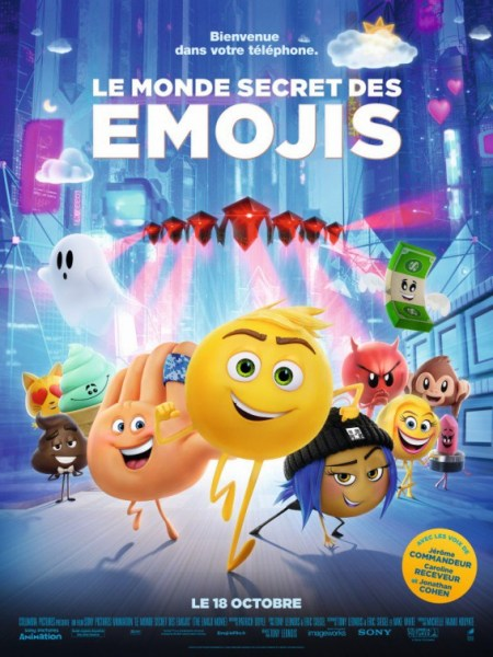 Emoji French Poster