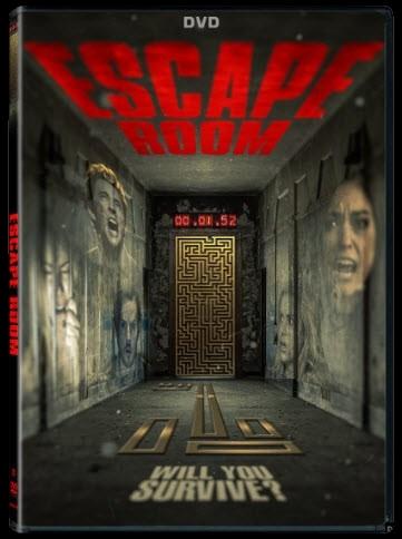 Escape Room DVD Cover