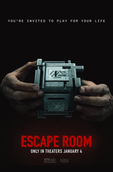 Escape Room New Film Poster