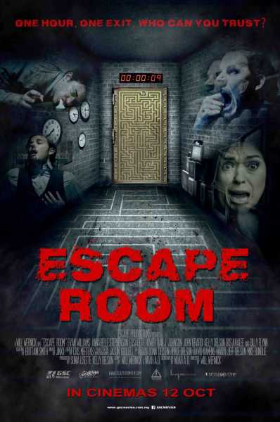 Escape Room New Poster From Malaysia