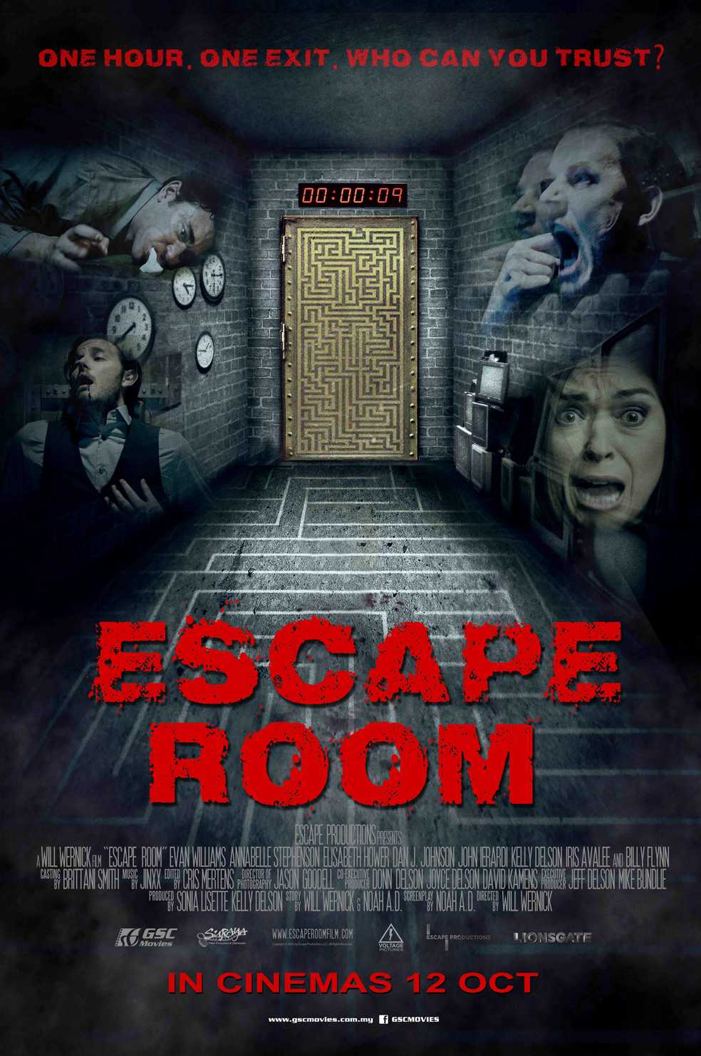 Escape Room Dvd Cover