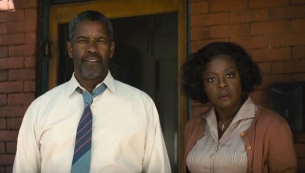 Fences movie - Denzel Washington and Viola Davis