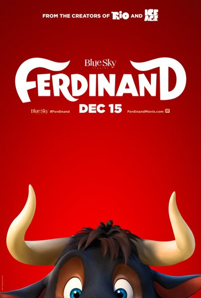 Ferdinand New Movie Poster