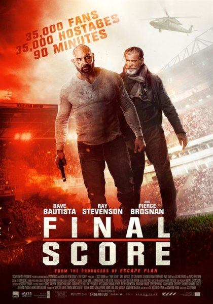 Final Score New Film Poster