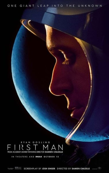 First Man New Film Poster