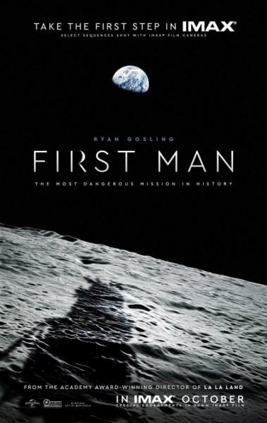 First Man Movie Teaser Poster