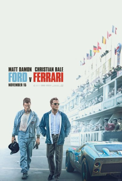 Ford V Ferrari New Poster