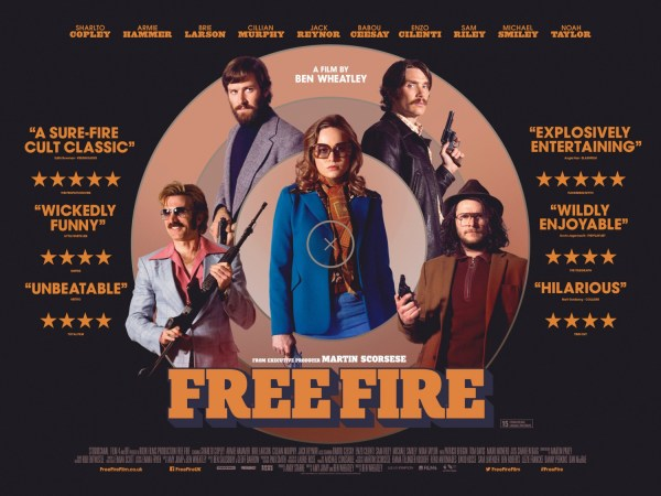 Free Fire UK Poster