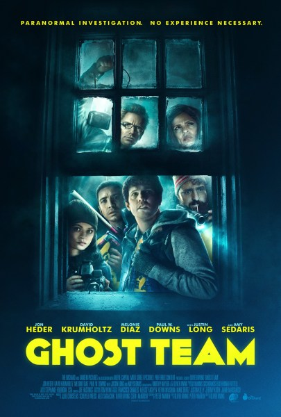 Ghost Team movie teaser poster