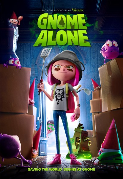 Gnome Alone New Poster