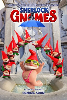 Sherlock Gnomes - Borat poster