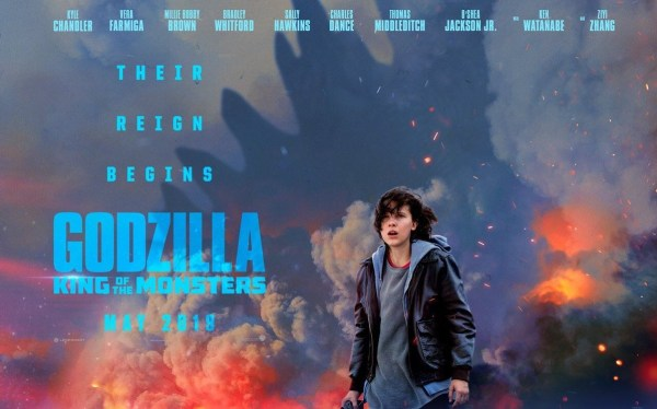 Godzilla Kind Of The Monsters New Film Poster