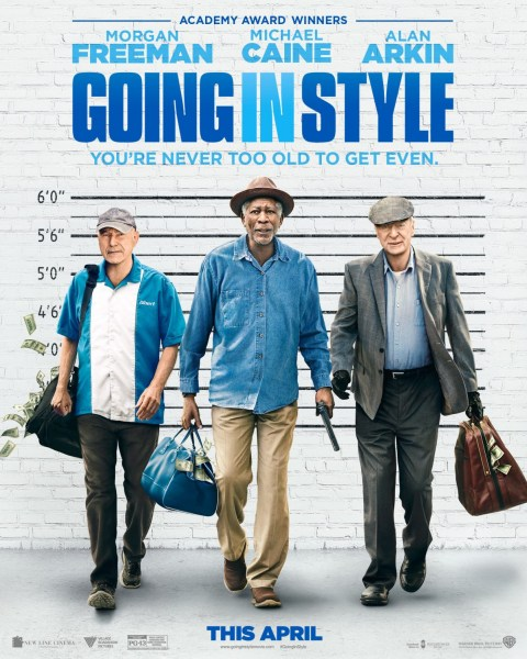 Going In Style Movie Poster