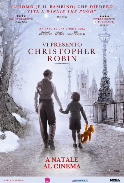 Goodbye Christopher Robin Italian Poster