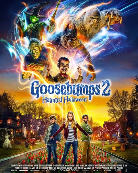 Goosebumps 2 New Film Poster