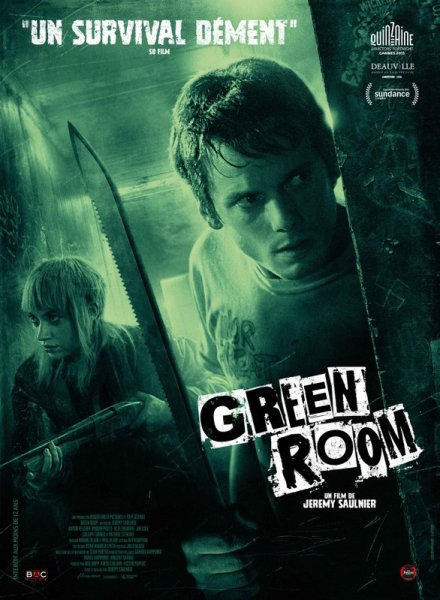 Green Room French Poster