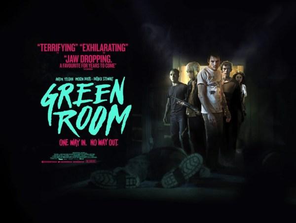 Green Room UK Banner Poster