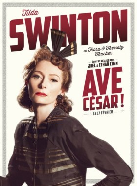 Hail Caesar Character Poster - Tilda Swinton