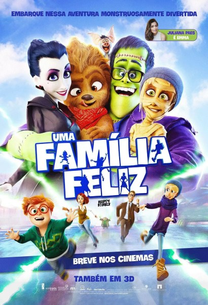 Happy Family New International Poster