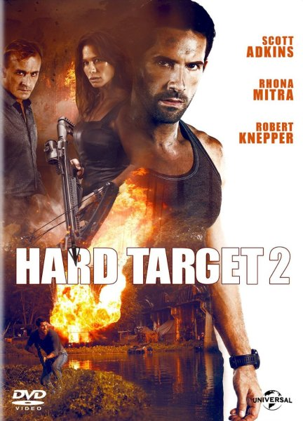 Hard Target 2 DVD Cover