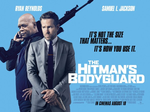 Hitman's Bodyguard Movie - Banner Poster