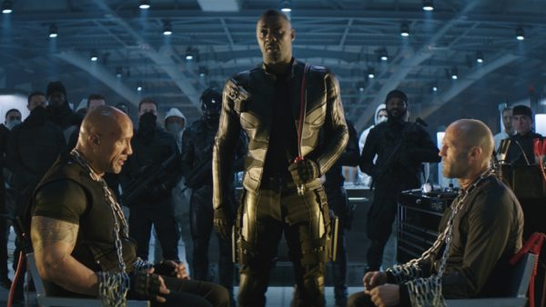 Hobbs And Shaw Movie - Dwayne Johnson, Jason Statham, Idris Elba