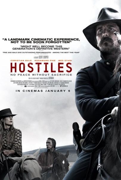 Hostiles UK Poster