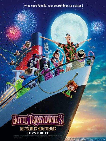 Hotel Transylvania 3 New Film Poster