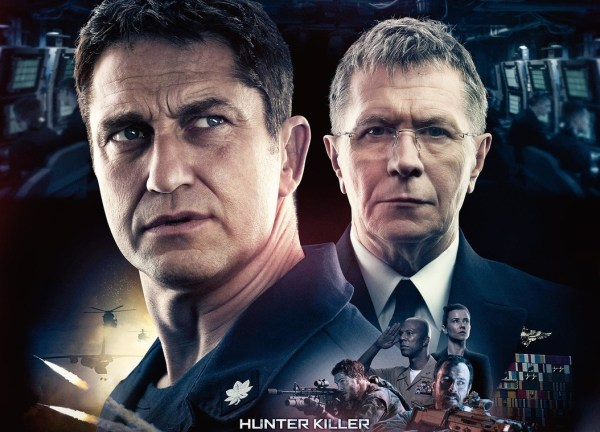 Hunter Killer Movie 2018 - Gerard Butler and Gary Oldman