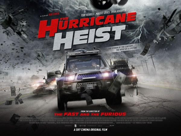 Hurricane Heist New UK Poster