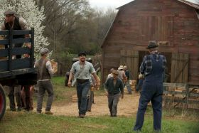 Vincent D'Onofrio and Nat Wolff - In Dubious Battle Movie