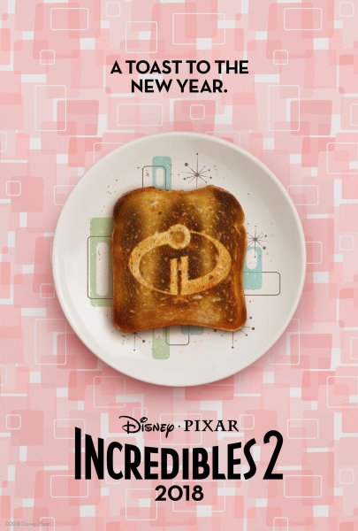 Incredibles 2 New Year Poster