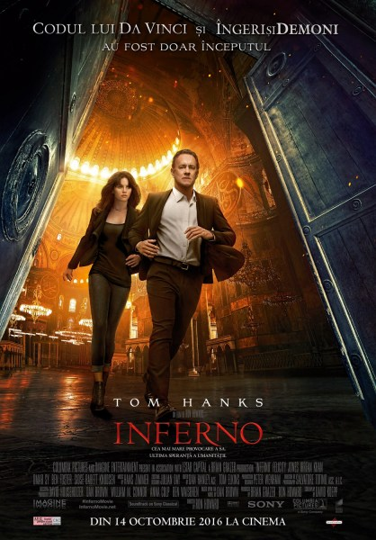 Inferno - Tom Hanks 2016 movie