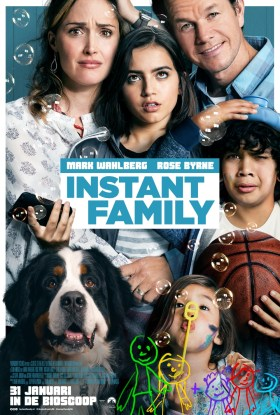 Instant Family Dutch Poster