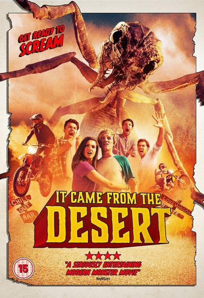 It Came From The Desert UK Cover Art