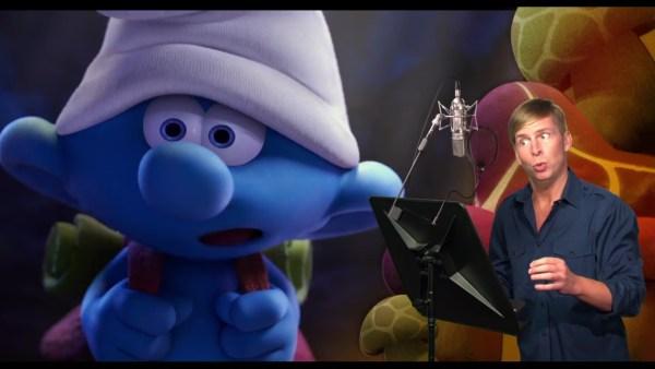 Jack McBrayer As Clumsy Smurf