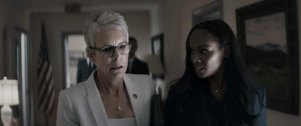 Jamie Lee Curtis And Tika Sumpter in the movie An Acceptable Loss