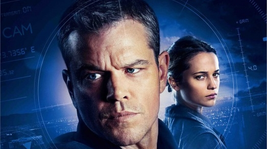 Jason Bourne Movie - Matt Damon and Alicia Vikander