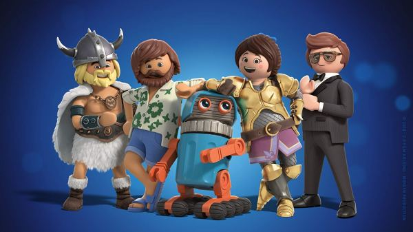 Jim Gaffigan, Daniel Radcliffe, Gabriel Bateman, And Anya Taylor Joy In Playmobil The Movie (2019)