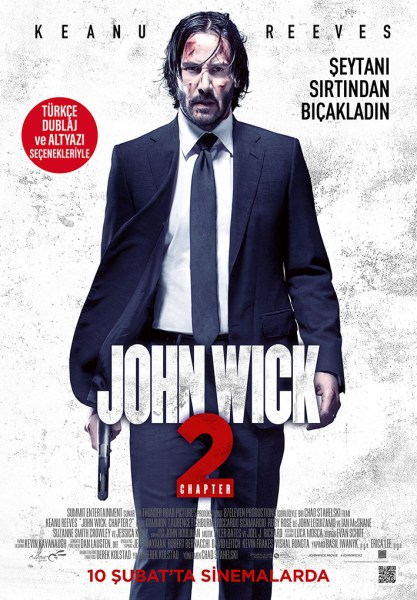 John Wick 2 Turkish Poster