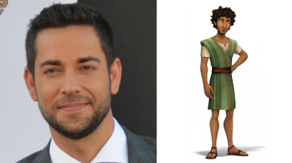 Joseph Voiced By Zachary Levi The Star Movie