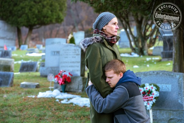 Ben Is Back movie - Julia Roberts and Lucas Hedges