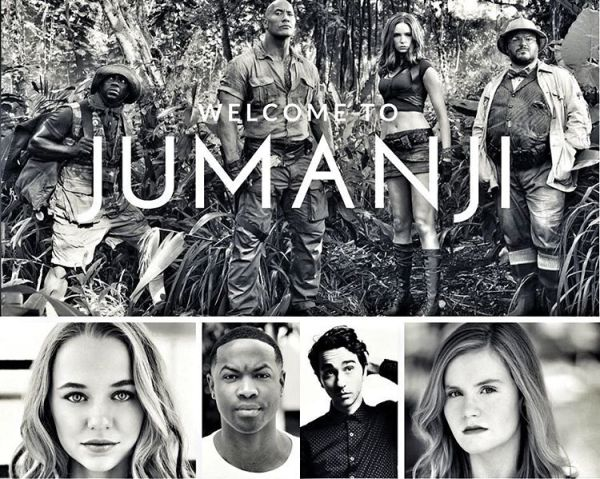 Jumanji movie in July 2017
