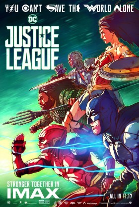 Justice League IMAX Art