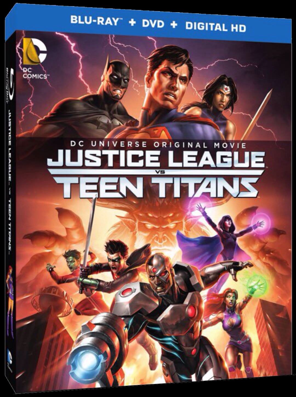Justice League Vs Teen Titans  Teaser Trailer-9693